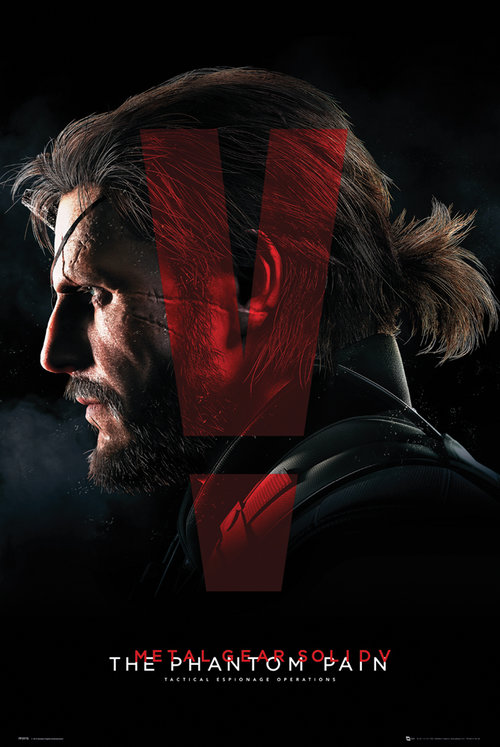Metal Gear Solid V Cover Maxi Poster