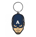 Avengers Age of Ultron Rubber Keychain Captain America 6 cm