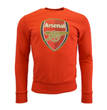 2015-2016 Arsenal Puma Fan Sweat Top (Red) - Kids