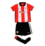 2015-2016 Athletic Bilbao Home Nike Little Boys Mini Kit
