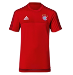 2015-2016 Bayern Munich Adidas Training Shirt (Red) - Kids