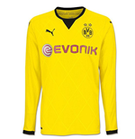 2015-2016 Borussia Dortmund Long Sleeve European Home Puma Shirt (Kids)