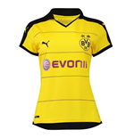 2015-2016 Borussia Dortmund Home Ladies Puma Shirt