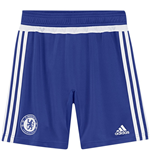 2015-2016 Chelsea Adidas Training Shorts (Blue)