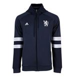 2015-2016 Chelsea Adidas SF Full Zip Hooded Top (Navy)