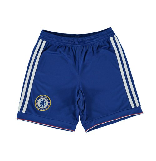 2015-2016 Chelsea Adidas Home Shorts (Blue)