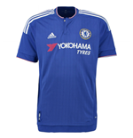2015-2016 Chelsea Adidas Home Football Shirt (Kids)