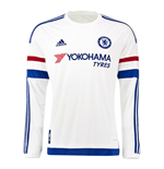 2015-2016 Chelsea Adidas Away Long Sleeve Shirt