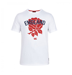 2015-2016 England Rugby Rose Tee (White)