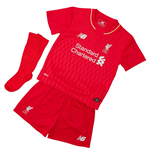 2015-2016 Liverpool Home Little Boys Mini Kit