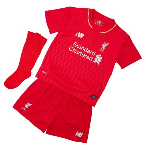 Official 2015 2016 Liverpool Home Baby Kit Buy Online On