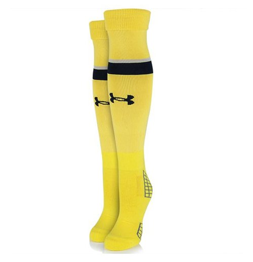 2015-2016 Tottenham Away Goalkeeper Socks (Yellow)