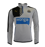 2015-2016 Newcastle Puma Quarter Zip Training Top (White)