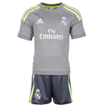 2015-2016 Real Madrid Adidas Away Mini Kit