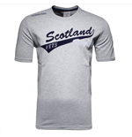 2015-2016 Scotland Macron Rugby Cotton Leisure Tee (Grey) - Kids