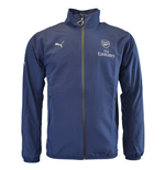 2015-2016 Arsenal Puma Casuals Woven Jacket (Navy)