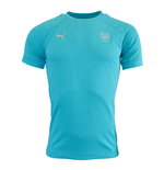 2015-2016 Arsenal Puma Casuals Performance Tee (Capri Breeze)
