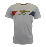2015-2016 Arsenal Puma Cannon Fan Tee (White) - Kids