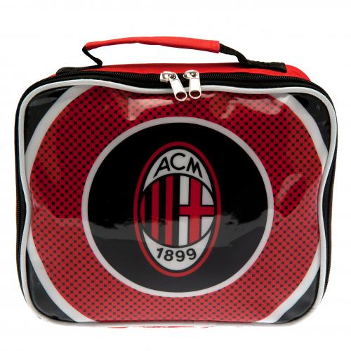 A c milan lunch bag for only at merchandisingplaza uk for Best lunch in milan