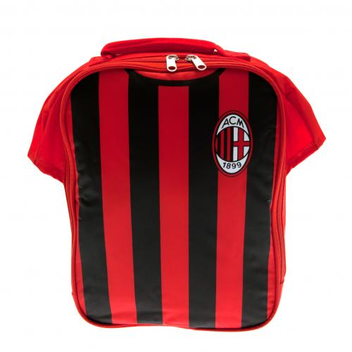 A c milan kit lunch bag for only at for Best lunch in milan