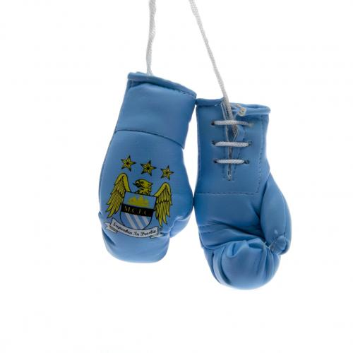 Manchester CityF.C. Mini Boxing Gloves
