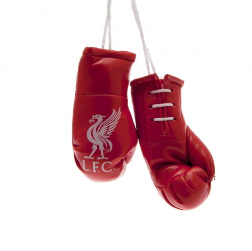 Official Liverpool F C Mini Boxing Gloves Buy Online On Offer