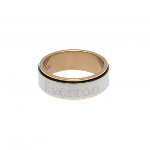 Everton F.C. Bi Colour Spinner Ring Large