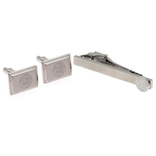 Celtic F.C. Tie Slide & Cufflink Set