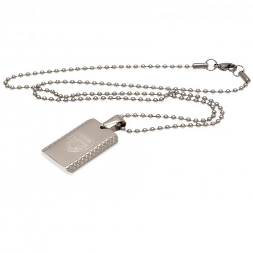 Arsenal F.C. Dog Tag & Chain PT