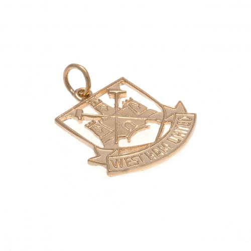 West Ham United F.C. 9ct Gold Pendant