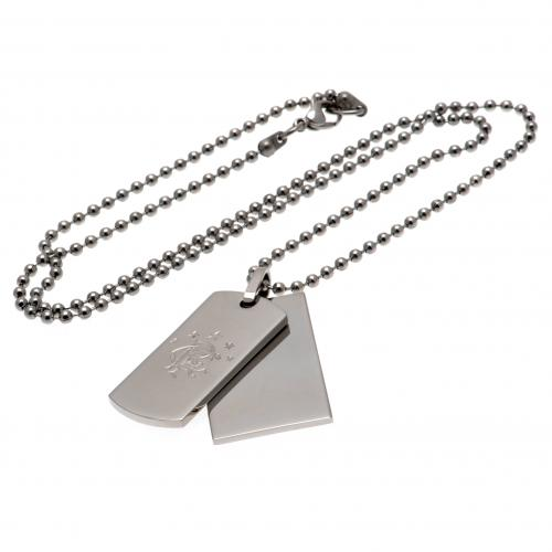 Rangers F.C. Double Dog Tag & Chain