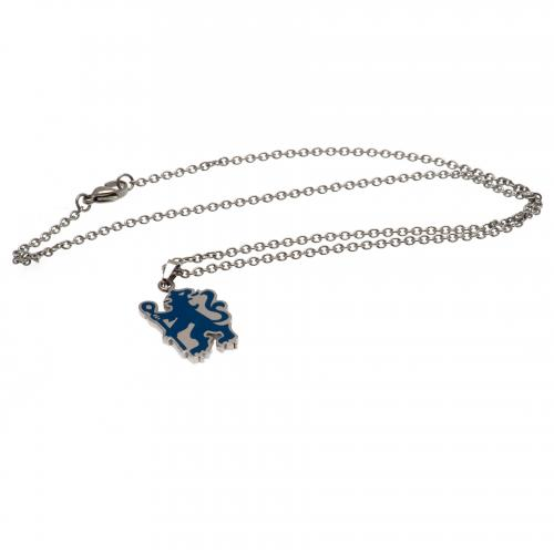 Chelsea F.C. Colour Pendant & Chain