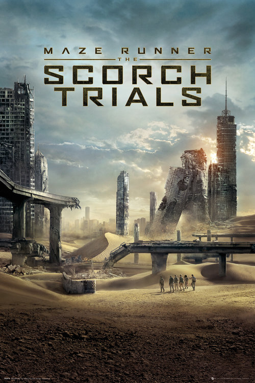 Maze Runner 2 One Sheet Maxi Poster