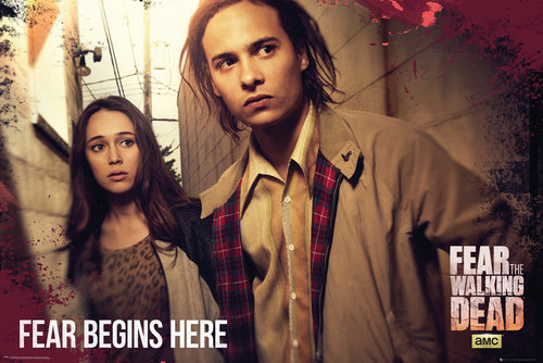 Fear The Walking Dead Fear Starts Here Maxi Poster