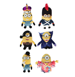 Minions Plush Figures Movie 22 cm Assortment (6)