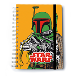 Star Wars Notebook A5 Boba Fett