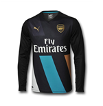 2015-2016 Arsenal Puma Third Long Sleeve Shirt (Kids)