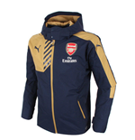 2015-2016 Arsenal Puma Rain Jacket (Navy) - Kids