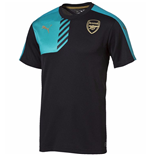 2015-2016 Arsenal Puma Cup Training Shirt (Anthracite) - Kids