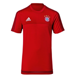 2015-2016 Bayern Munich Adidas Training Shirt (Red)