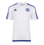 2015-2016 Chelsea Adidas Training Tee (White) - Kids