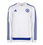 2015-2016 Chelsea Adidas Sweat Top (White)