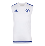 2015-2016 Chelsea Adidas Sleeveless Shirt (White)
