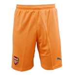 2015-2016 Arsenal Third Goalkeeper Shorts (Orange)