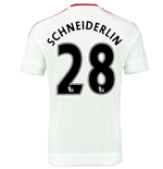 2015-2016 Man Utd Away Shirt (Schneiderlin 28) - Kids