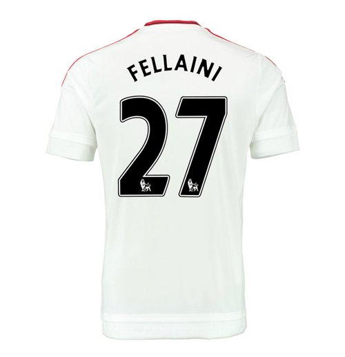 2015-2016 Man Utd Away Shirt (Fellaini 27) - Kids