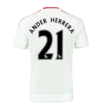 2015-2016 Man Utd Away Shirt (Ander Herrera 21) - Kids