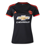 2015-2016 Man Utd Adidas Womens Third Shirt