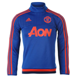 2015-2016 Man Utd Adidas Training Top (Royal Blue)