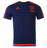 2015-2016 Man Utd Adidas Training Tee (Dark Blue)